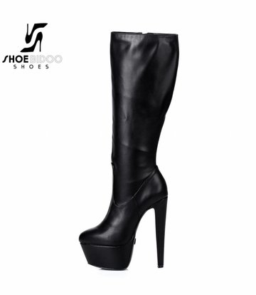 "Giaro Black matte Giaro ""Destroyer"" knee boots"