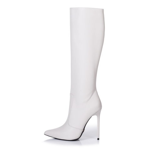 Giaro ZIRA | LIGHT GREY | KNEE BOOTS