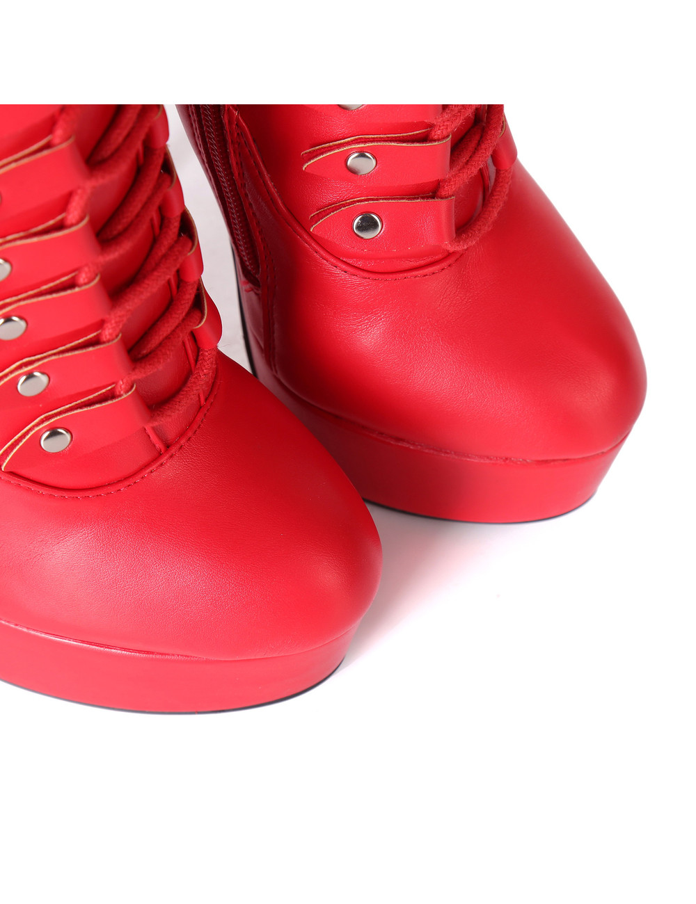 """Giaro RED lace-up ultra """"Galana MOUCHARDE"""" thigh boots"""