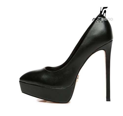 Giaro SCANT | BLACK | PLATFORM FASHION PUMPS