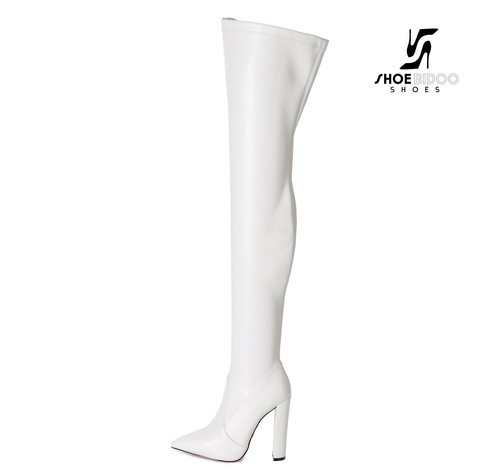 Giaro TRINKET | WHITE | FASHION THIGH BOOTS