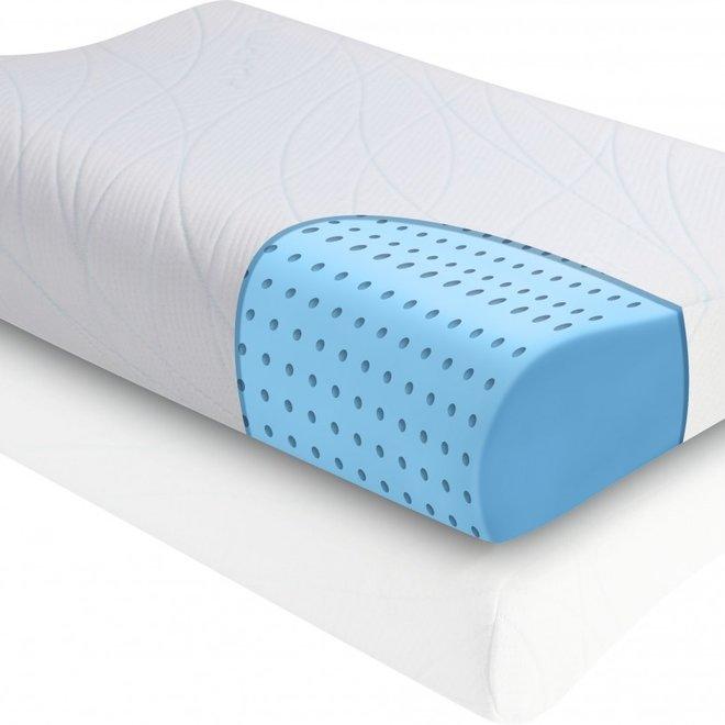 Hoofdkussen OXYGEL FLEX™ CONTOUR- memory foam + ADAPTIVE ®
