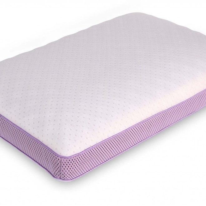 Hoofdkussen ORTHOTHERAPY™ Lavender Pillow - memory foam