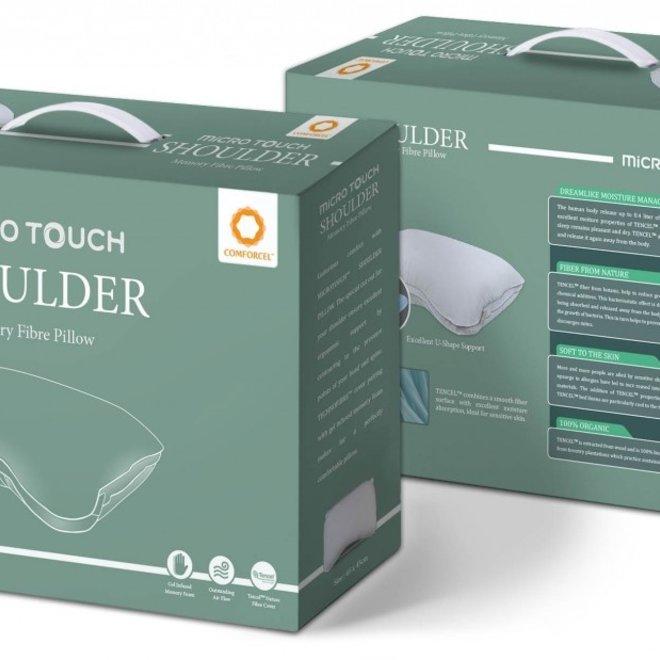 Hoofdkussen MICRO TOUCH™ Shoulder Memory Fibre Pillow