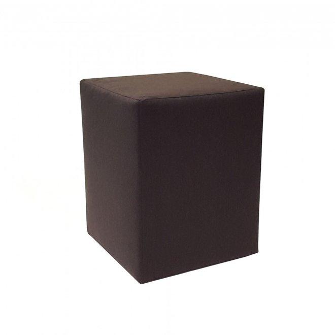 Hocker Zwart stof Deluxe