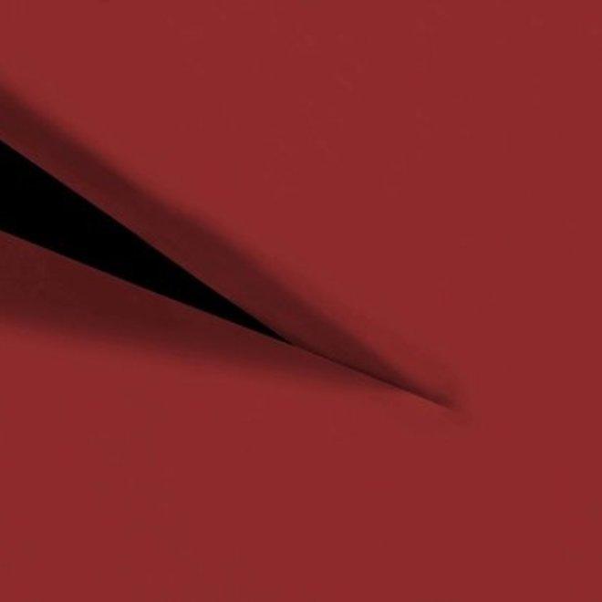 Splittopper hoeslaken - Katoen Perkal - 200 x 220 cm - Rood