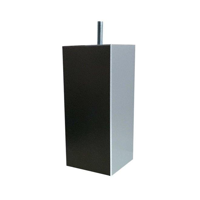 Boxspring poten vierkant grijs 15cm