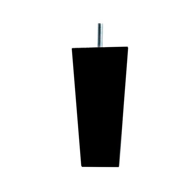 Boxspring poten taps zwart 15cm
