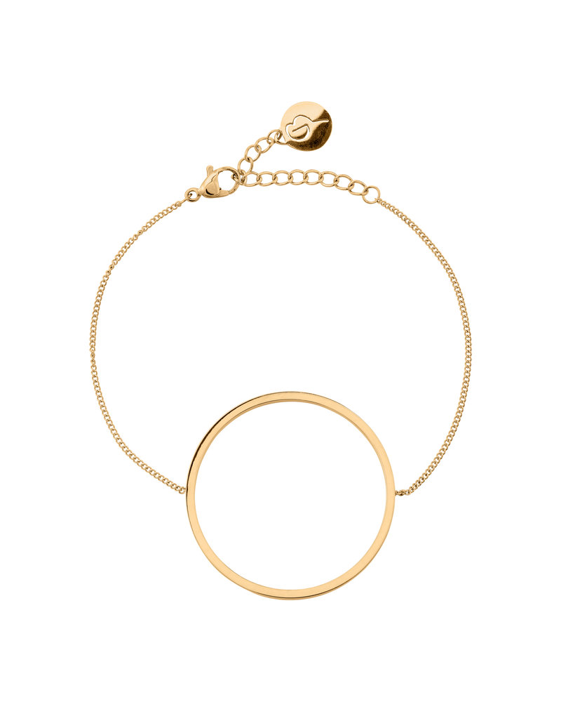 Edblad Edblad Circle armband | kleur mat goud