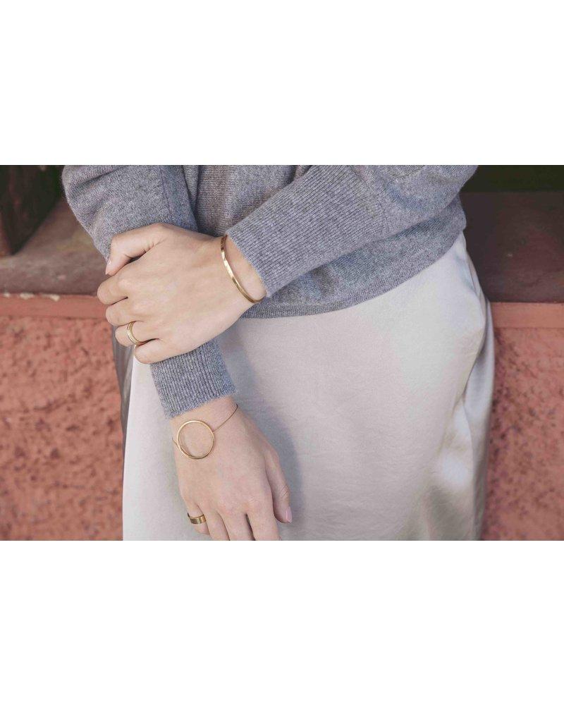 Edblad Circle armband   kleur mat goud