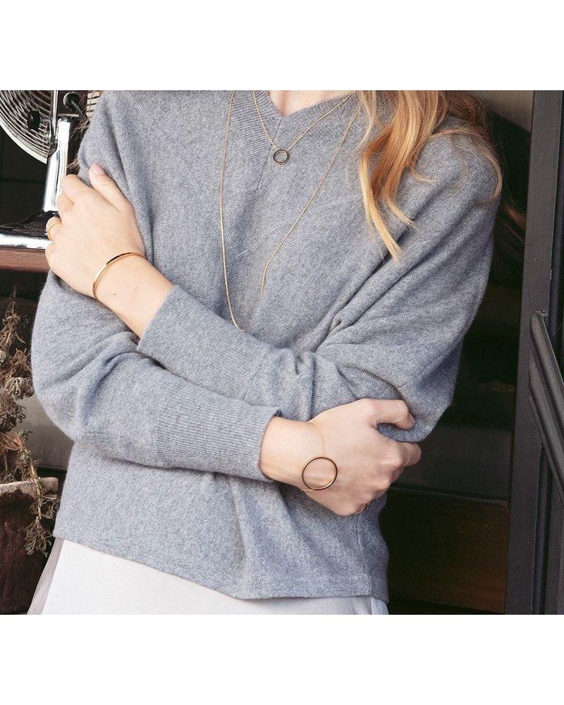 Edblad Circle armband | kleur zilver