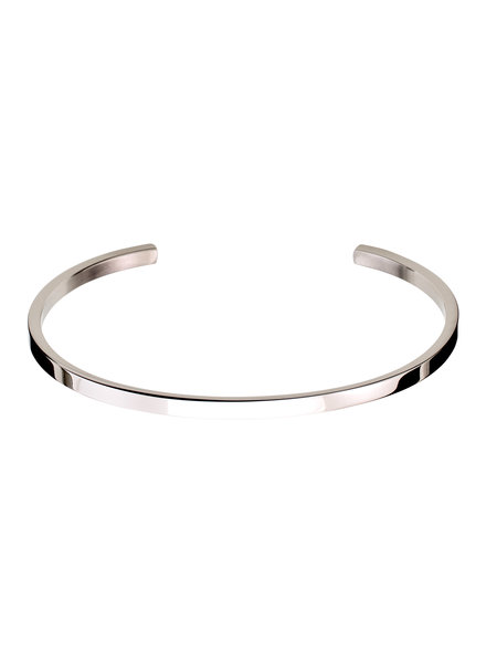 Edblad Circle bangle armband kleur zilver