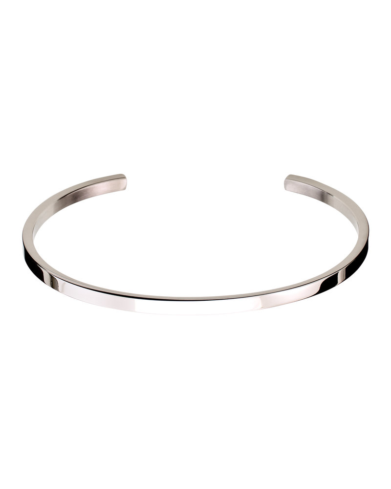 Edblad Edblad Circle bangle armband | kleur zilver