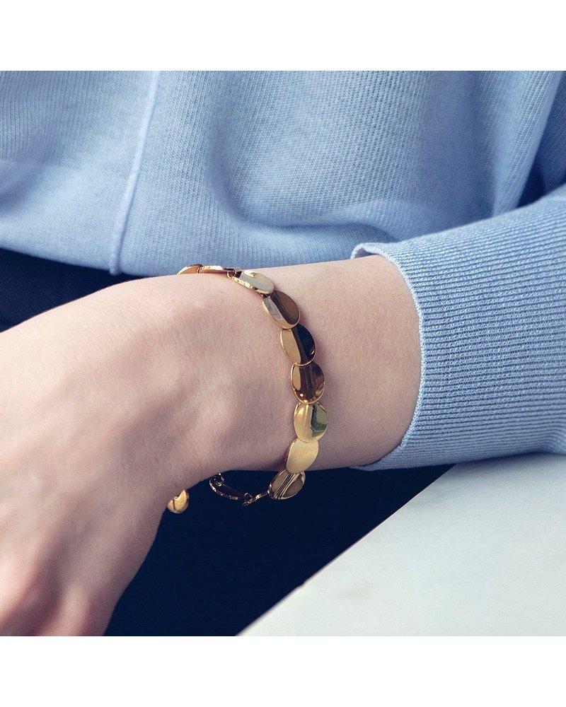 Edblad Pebble armband | kleur goud