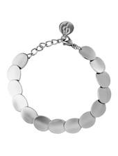 Pebble armband kleur zilver