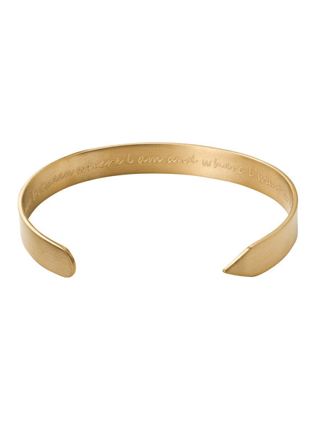 Edblad Thought bangle kleur mat goud