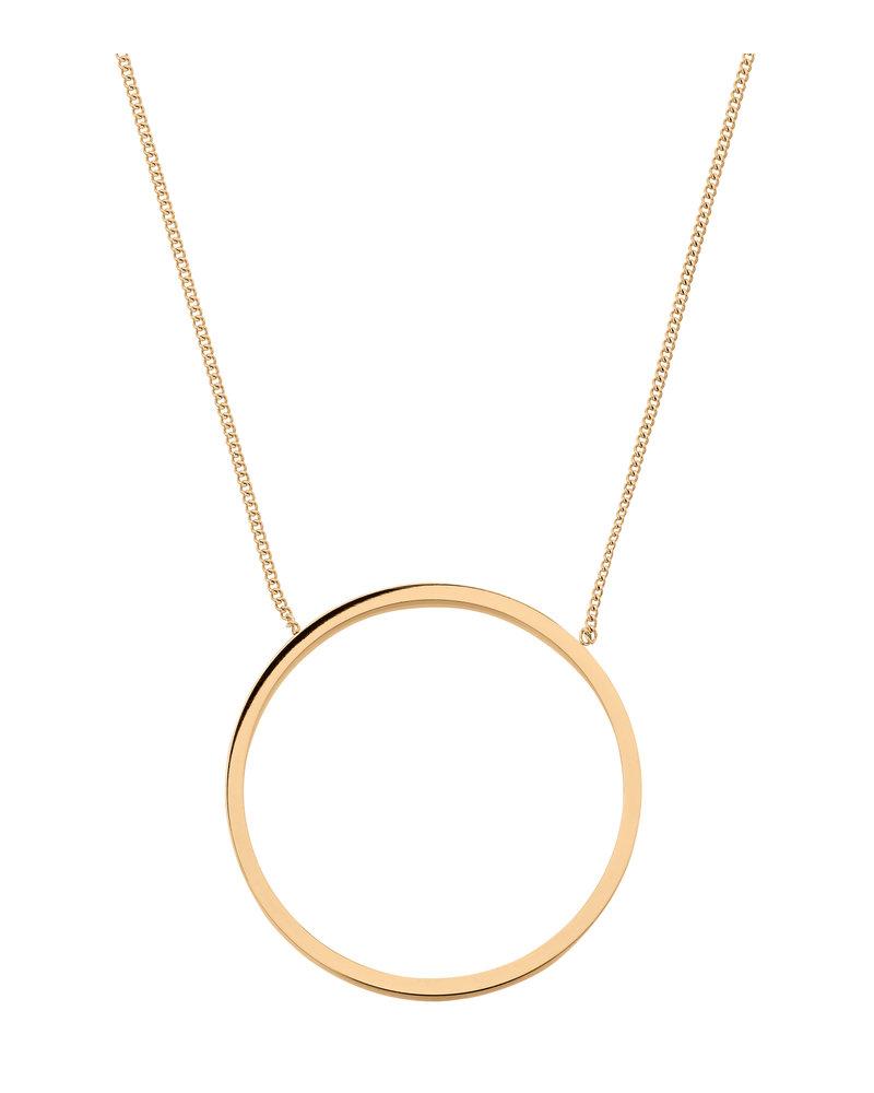 Edblad Edblad Circle ketting | kleur goud