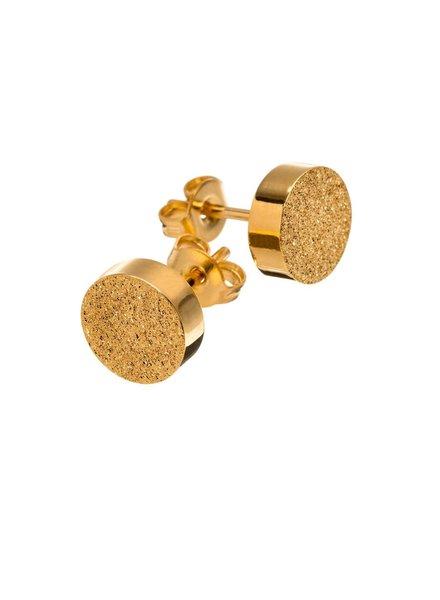 Edblad Dottie studs glittering goud