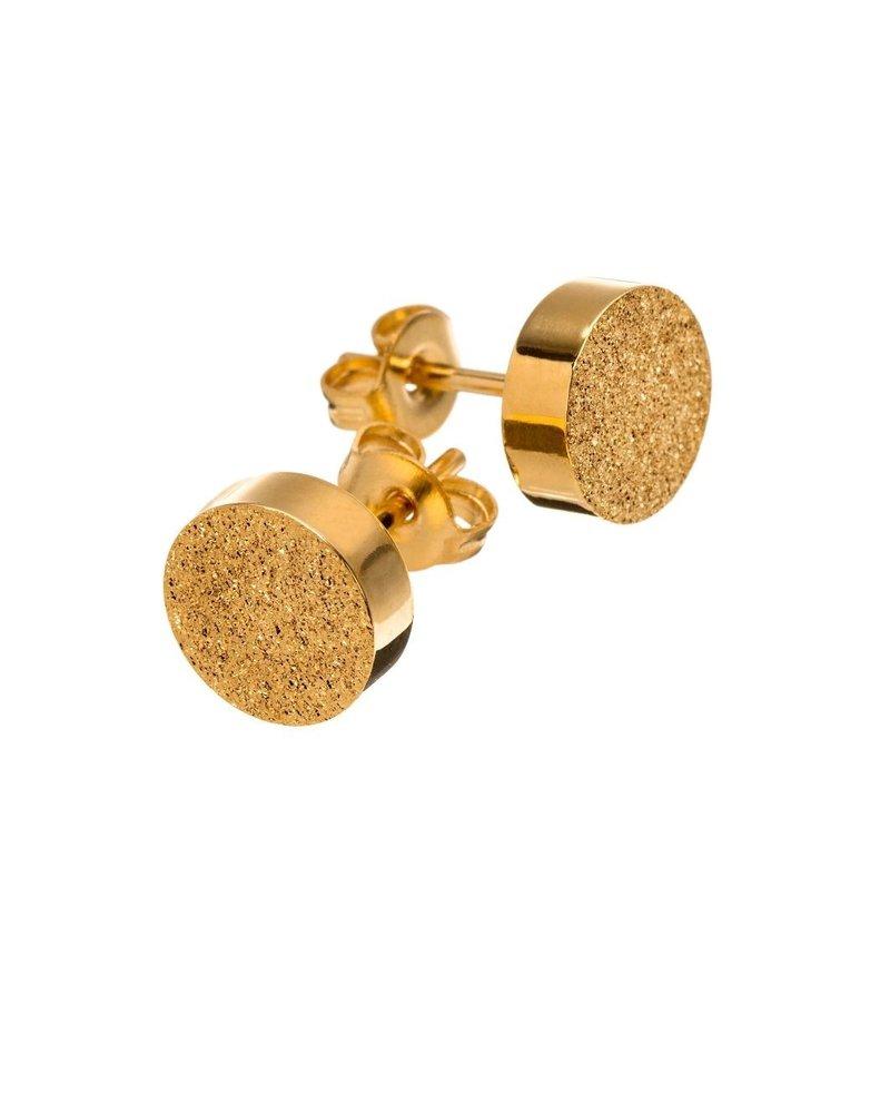 Edblad Edblad Dottie studs | kleur glittering goud