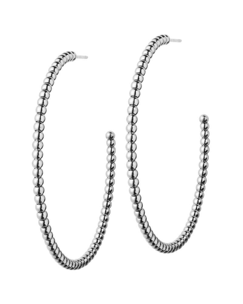 Edblad EDBLAD  Domino oorbellen | kleur zilver