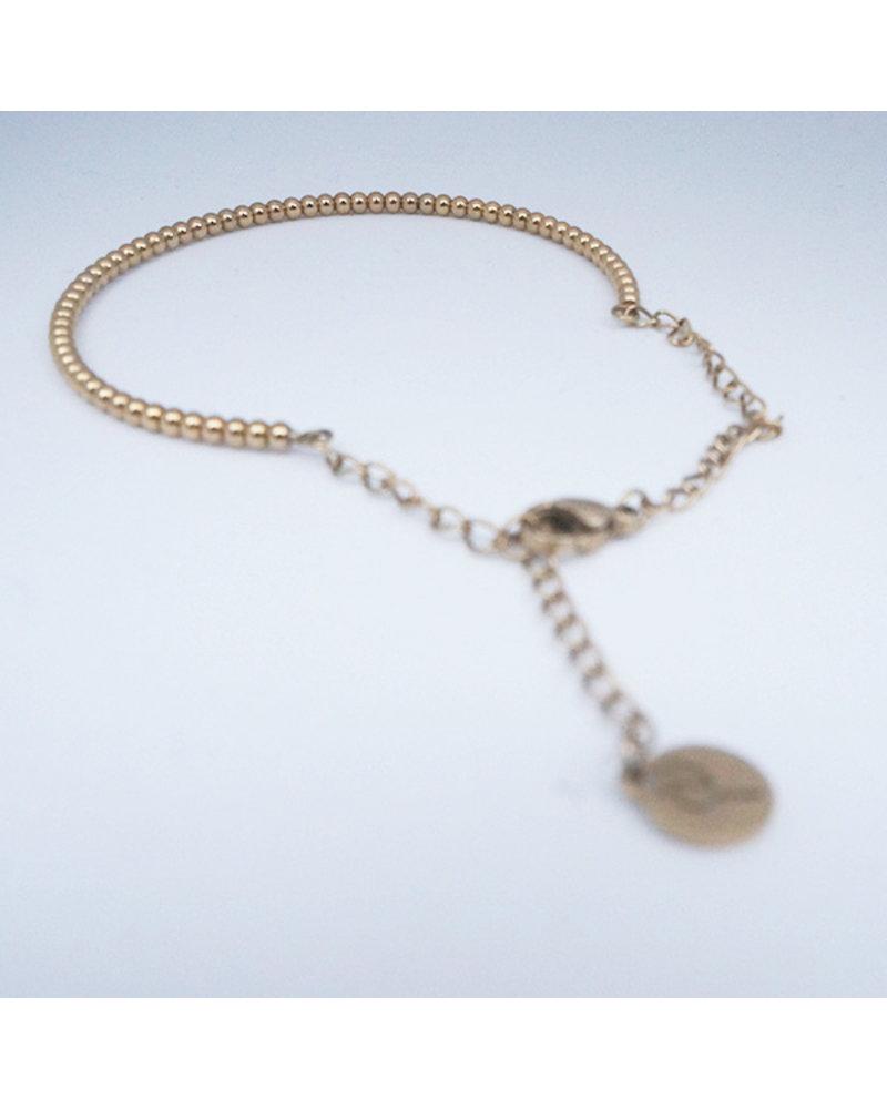 Edblad EDBLAD  Domino armband | kleur goud