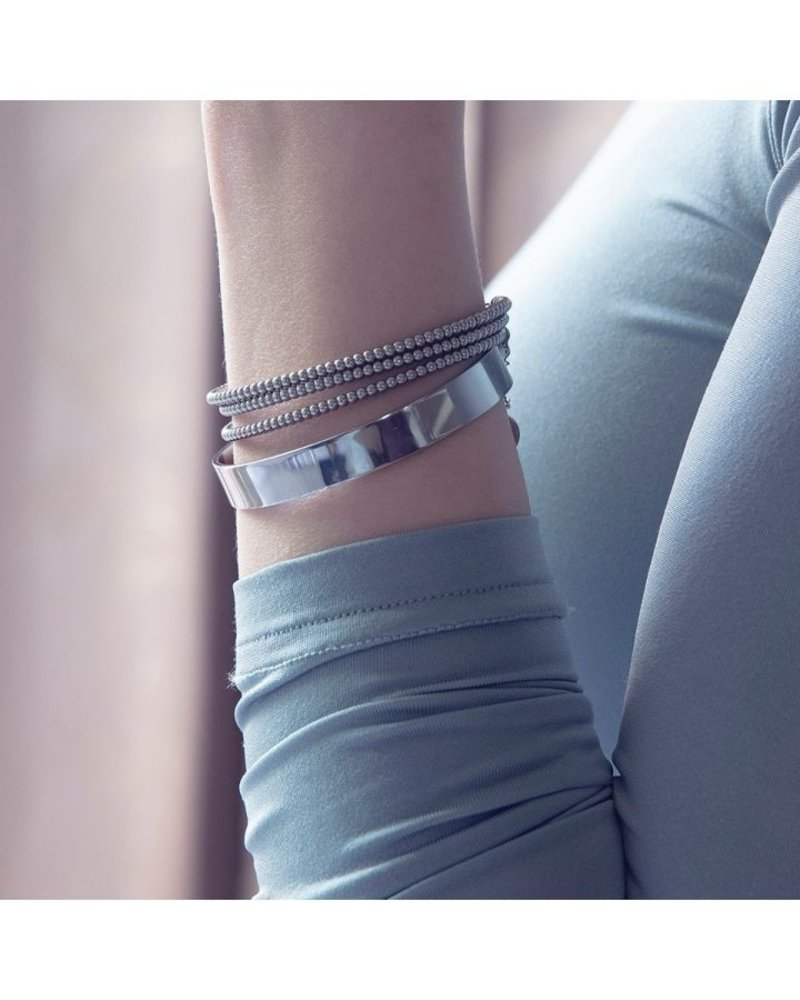 EDBLAD  Domino armband | kleur zilver