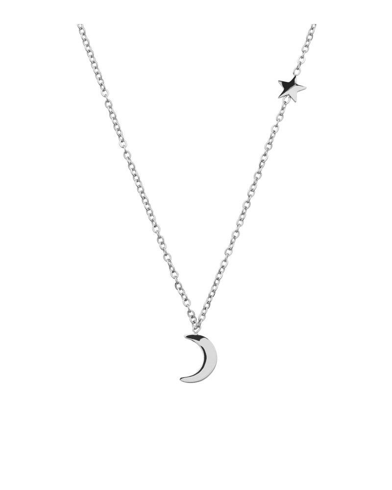 EDBLAD Bright Night ketting | kleur zilver