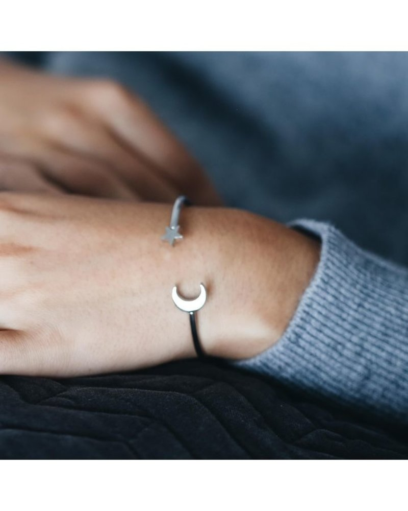 EDBLAD Bright Night armband | kleur zilver