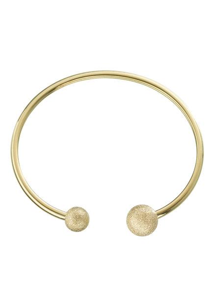 Atom armband goud