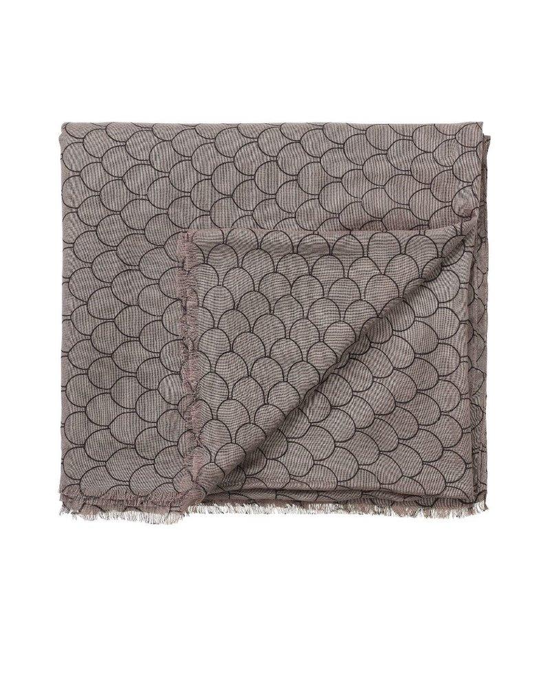 EDBLAD  sjaal Evelyn Tiles | kleur clay