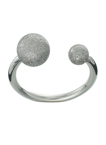 Edblad Atom ring glitter steel