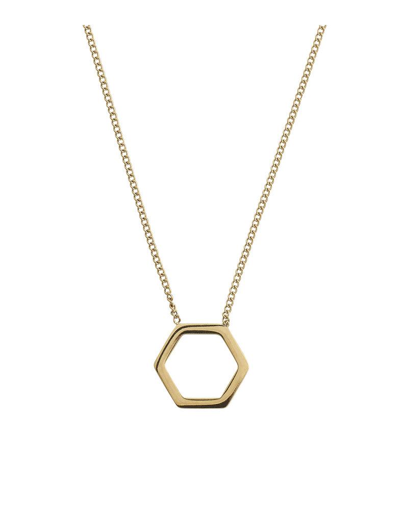 Edblad EDBLAD Hexagon ketting | kleur goud