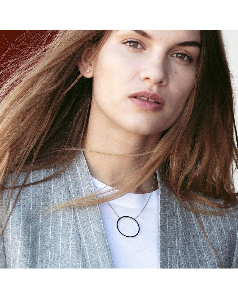 Edblad Circle ketting | kleur zilver