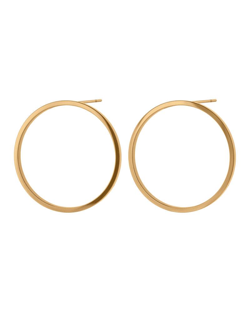 Edblad Edblad Circle oorbellen | kleur goud