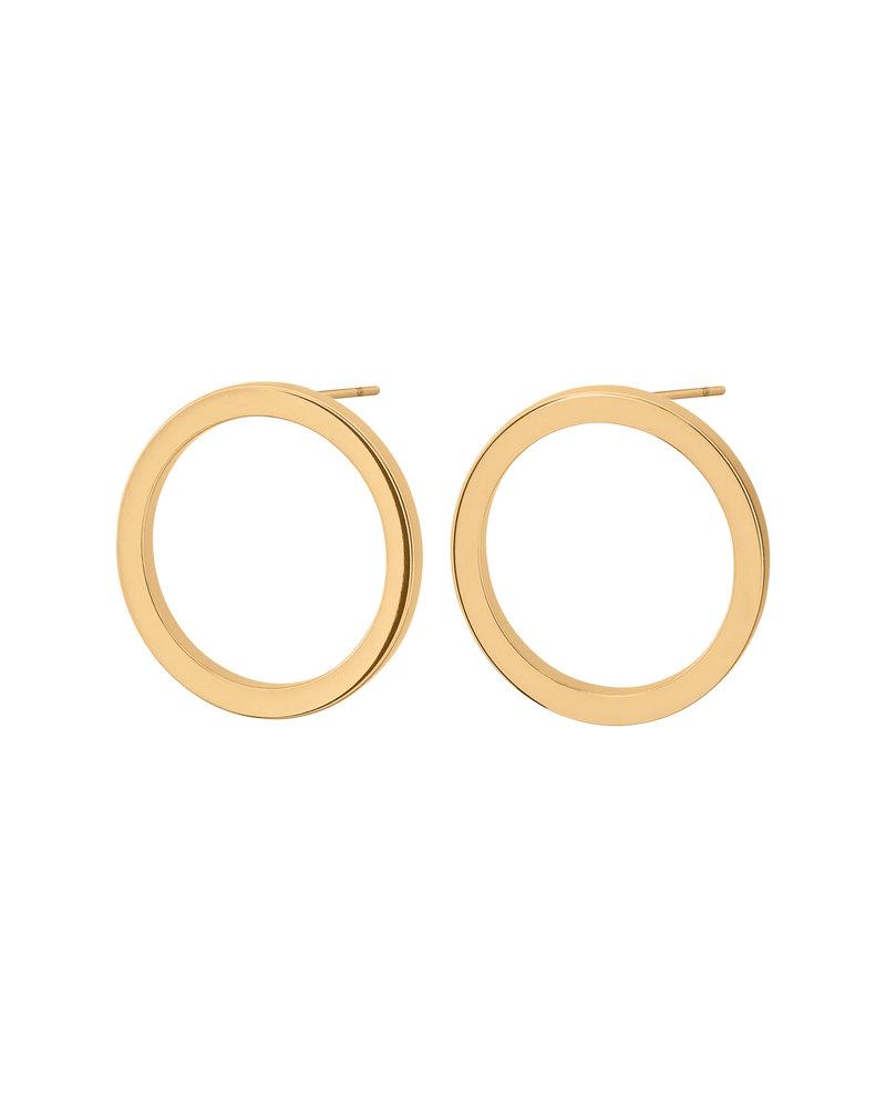 Edblad Edblad Circle oorbellen klein | kleur goud