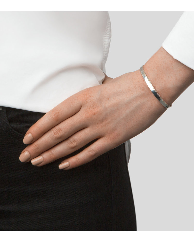 Syster P Syster P Minimalistica bangle | zilver