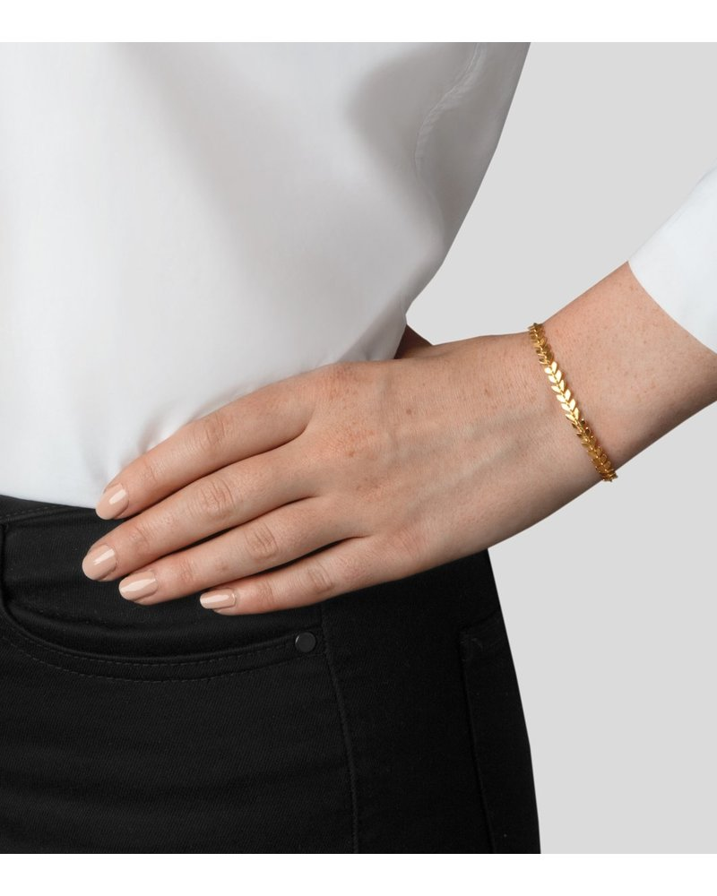 Syster P Syster P Layers Olivia armband | goud