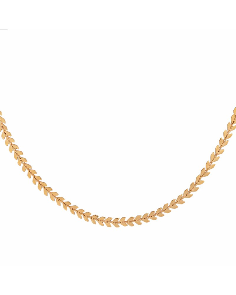 Syster P Syster P Layers Olivia ketting | goud