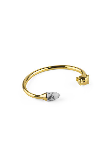 Syster P Panthera  bangle goud-howliet