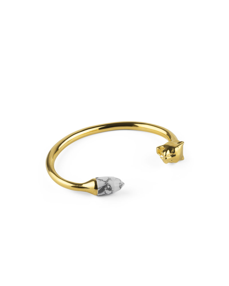 Syster P Syster P Minimalistica bangle | goud-howliet