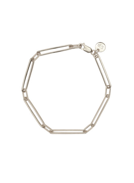 Syster P Links Squared armband zilver