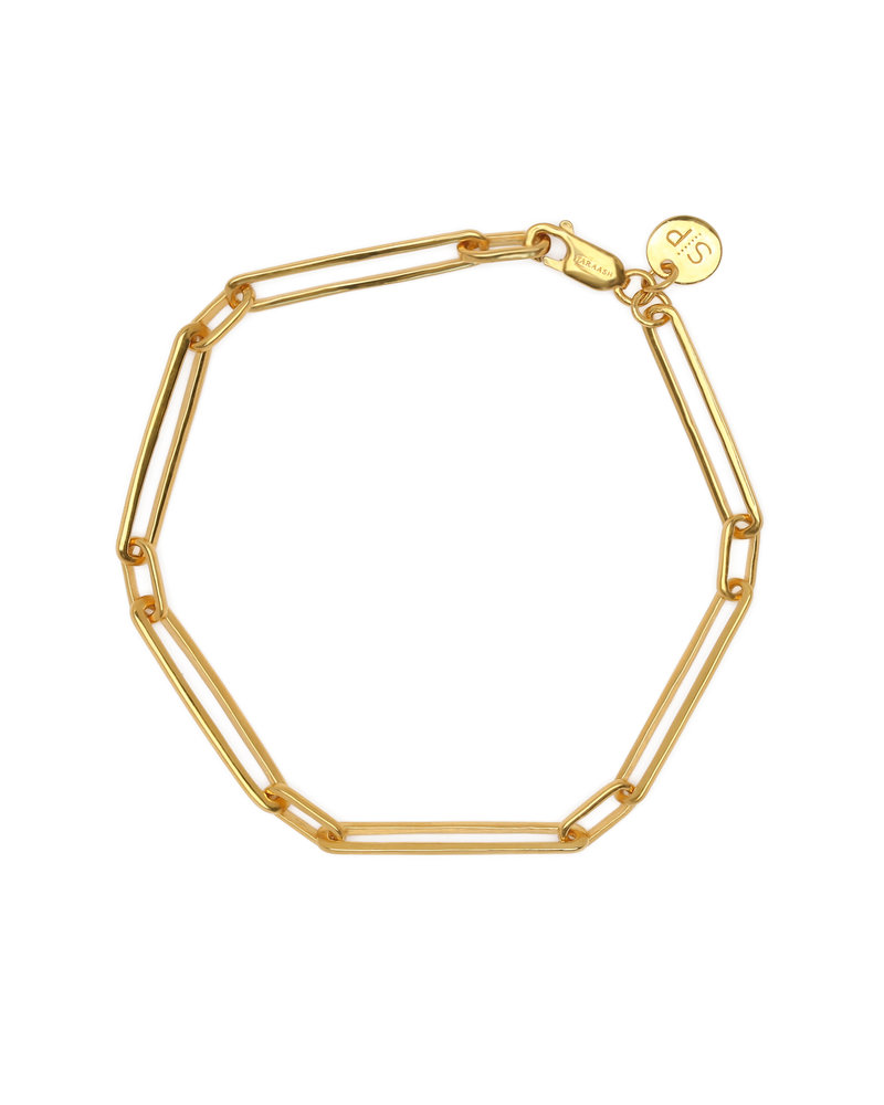 Syster P Syster P Links Squared armband | goud