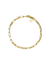 Syster P Links Squared small armband goud