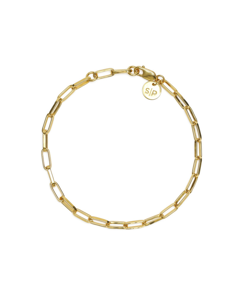 Syster P Syster P Links Squared small armband | goud