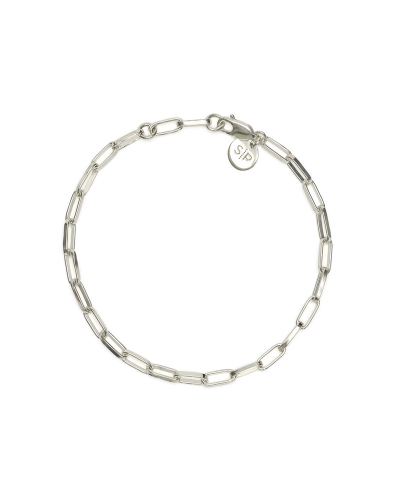 Syster P Syster P Links Squared small armband | zilver