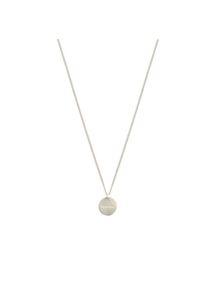 Syster P Minimalistica Breathe ketting  zilver