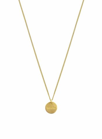 Syster P Minimalistica Breathe ketting  goud