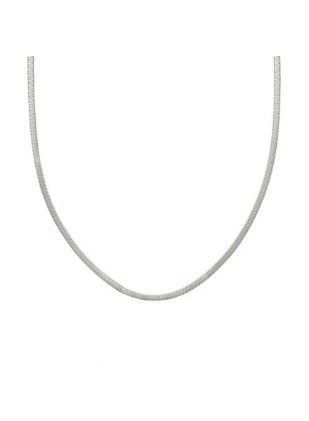 Edblad Herringbone ketting 50 cm zilver