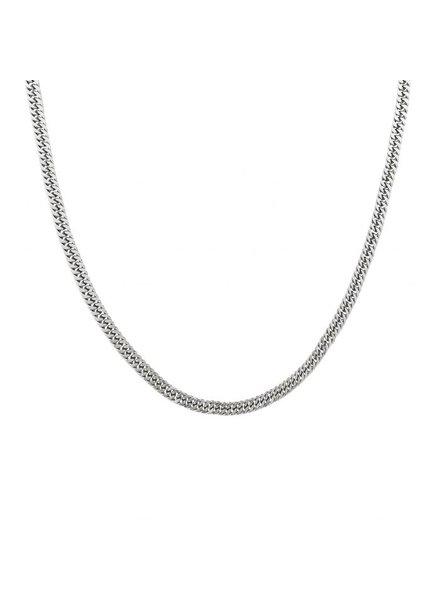 Edblad Pansar ketting 50 cm zilver