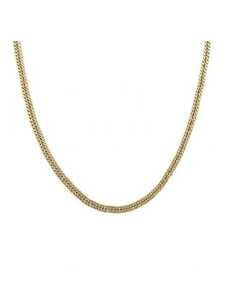 Edblad Pansar ketting 50 cm goud